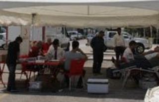 Konya Seker'de Kan Bagisi Kampanyasi