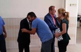 Özel Babaoglu Anadolu Lisesin'de Bayramlasma