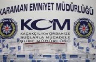 Karaman'da Agustos Ayinda Emniyet 10 Bin 548 Paket...