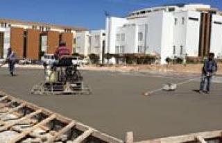 Karaman Devlet Hastanesi`ne Heliport Yapiliyor