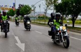 Bin Kisi Basina Düsen Motosiklet Sayisinda Karaman...