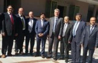 Karaman SMMM Odasi'ndan Ankara`daki Karaman`li Bürokratlara...