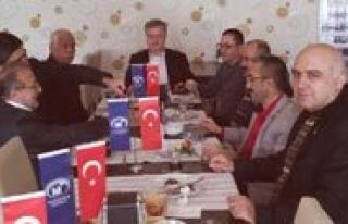 Karaman SMMM Odasi, Emekli Üyeleriyle Kahvalti'da...