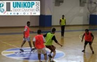 UNIKOP Spor Oyunlari Basliyor
