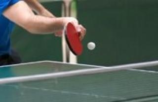 Karaman'da Ögretmenler Günü Masa Tenisi Turnuvasi...
