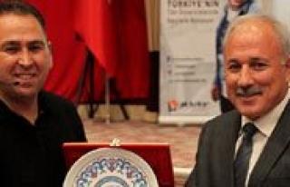 Yapimci Yönetmen Hasan Yildiz KMÜ Ögrencileriyle...