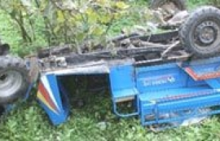 Patpat Motoru Devrildi: 1 Ölü, 2 Yarali
