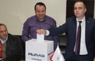 MÜSIAD Karaman Subesi Yönetimi Güven Tazeledi