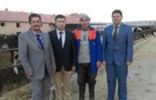 Boyalitepe Köyünde Tarimsal Sorunlar Degerlendirildi