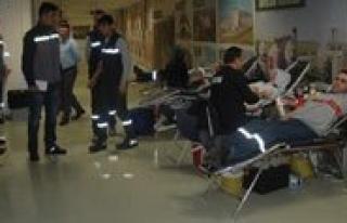 Konya Seker'de 7. Kan Bagisi Kampanyasi
