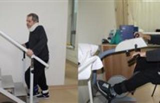 Felçli Hasta, Fizik Tedaviyle Yürümeye Basladi