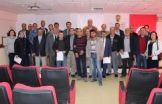 Karaman'da 71 Arıcı Belgesini Aldı