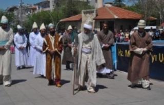 1. Uluslararası Sevgi Ve Barış Yürüyüşü İlimizden...
