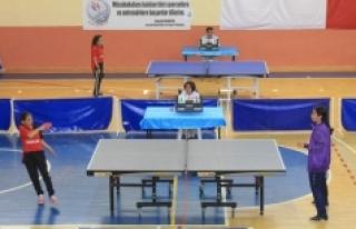 23 Nisan Masa Tenisi Şenliği Sona Erdi