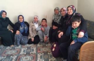 AK Partili Hanımlardan Hasta Ziyareti