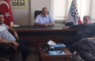 İŞGEM Müdürü Ali Kantürk'ü Ziyaret Ettiler