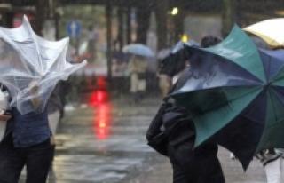Kuvvetli Rüzgar Ve Yağışlar Geliyor
