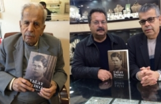 Talat Duru'ya Sürpriz Kitap
