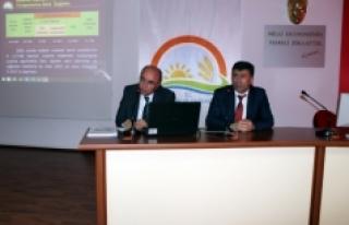 Karaman Tarımsal Kuraklık Eylem Planı Toplantısı...