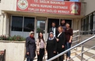 Karaman TRSM'den Konya TRSM'ye Ziyaret
