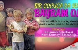 Gel Bu Ramazan Bir Çocuğa Da Sen Bayram Ol