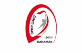 Karaman Spor Lisesine 90 Öğrenci Alınacak