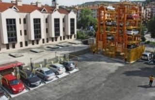 Karaman'a Robotik Otoparklar Geliyor
