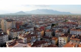 Karaman'da 2016 Yılı Mayıs Ayında 268 Konut...