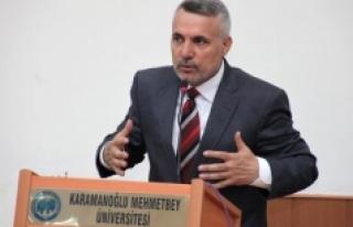"""Karataş'tan KMÜ'de """"Ödüllendirici Yönetim""""..."""