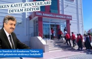 Özel Babaoğlu Anadolu Lisesi'nde Erken Kayıt...