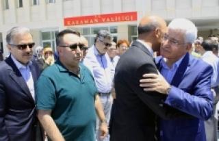 Vali Murat Koca Karaman'dan Ayrıldı