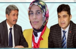AK Parti Başkanlarından Kutlama