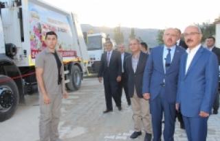 Bakan Elvan, Sarıveliler'de Belediyenin Toplu...