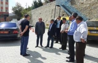 Vali Tapsız, Belediye Başkanı Samur'u Ziyaret...
