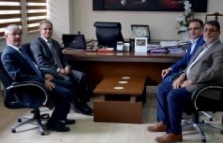 İl Genel Meclis Başkanı'na İade-i Ziyaret