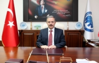 Rektör Sabri Gökmen'in 29 Ekim Cumhuriyet Bayramı...