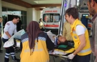 Spor Salonu İnşaatında İş Kazası: 1 Yaralı