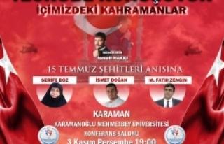 15 Temmuz Kahramanları Karaman'da Vatan Sevdalılarıyla...