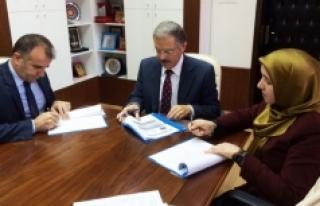 KMÜ Ve Proje İmam Hatip Okulları Arasında İşbirliği