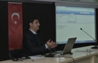 KMÜ'de İdari Personele Hizmet İçi Eğitim Verildi