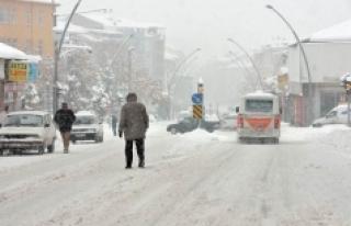 Karaman Son 60 Yılın En Fazla Kar Yağışını...