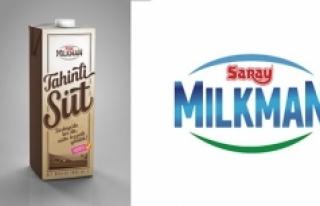 Saray Mılkman'den Süte Tahinli Yenilik
