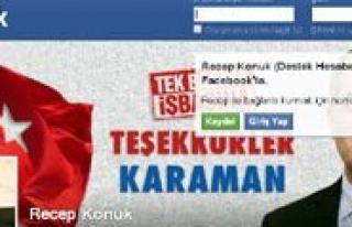 Recep Konuk'un Facebook Hesabi Hacklendi