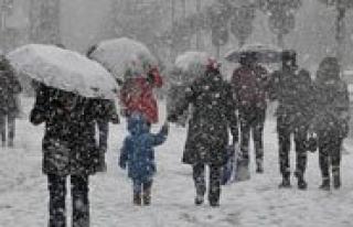 Karaman'a Kar Yeniden Geliyor