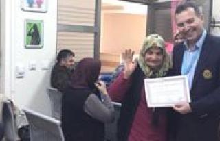 Karaman Devlet Hastanesi Diyabet Okulu Ilk Mezunlarini...