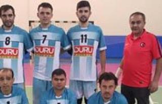 Isitme Engelli Voleybol Takimimiz Samsun'da Karaman'i...