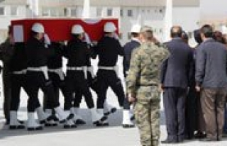 Karamanli Sehidin Cenazesi Konya'ya Getirildi