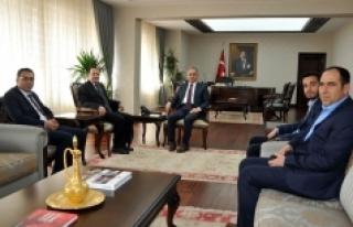 MÜSİAD'ın Yeni Yönetiminden Vali Tapsız'a...