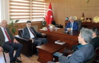 Ak Parti İl Teşkilatından Kuntoğlu'na Ziyaret