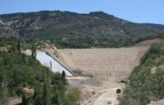 Karaman Ermenek Kazancı Barajı'nda Çalışmalar...